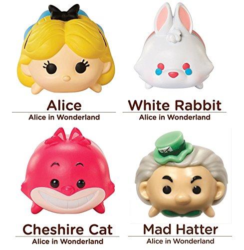 Disney Tsum Tsum 4 Figure Alice in Wonderland Pack - Alice W