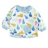 PPTree Long Baby Waterproof Sleeved Bibs Outer