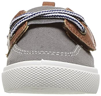 Carter's Boys' Cosmo Casual Slip-on Sneaker, Grey, 9 M Us Toddler 3