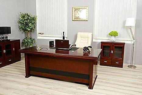 Arrediorg scrivania da ufficio metri serie elite amazon