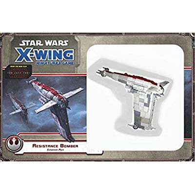 Star Wars: X-Wing - Resistance Bomber Expansion: Toys & Games