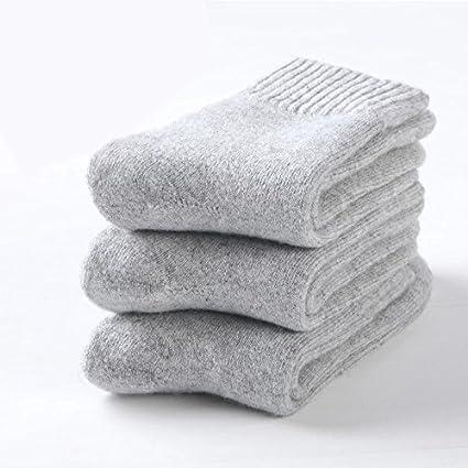Calcetines de invierno para chica calcetines gruesos más calcetines de algodón cálido terciopelo puro algodón toalla
