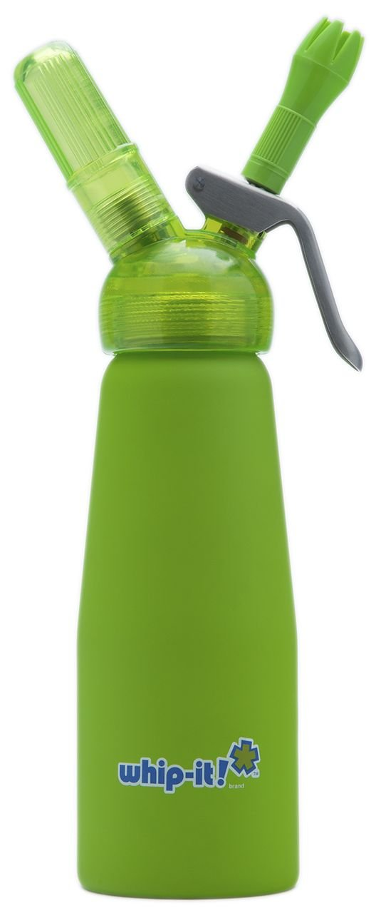 United Brands 1/2-Litre Green Whip Cream Dispenser Inc SV-PRO09