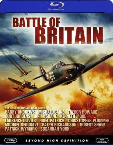 Battle Of Britain 1969 Edizione: Stati Uniti USA Blu-ray: Amazon.es: Michael Caine, Trevor Howard, Harry Andrews, Ian McShane, Kenneth More, Laurence Olivier, Ralph Richardson, Tom Chatto, Andre Maranne, Hein Reiss, Manfred Reddemann,