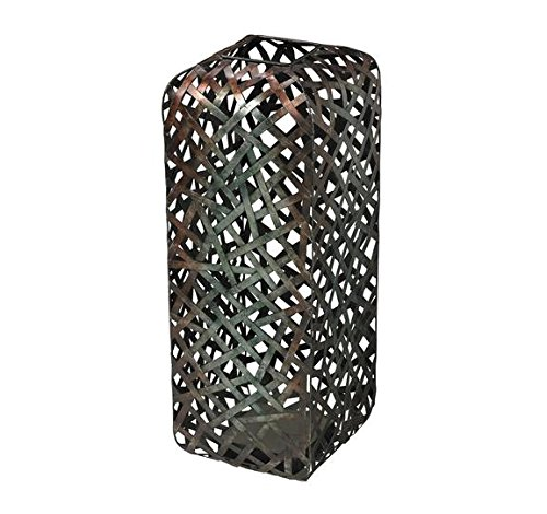 Vase Sterling - Sterling Industries Sterling Bar Stoolsry Transitional Bronze And Silver Tone Plating On Metal Floor Standing Vase