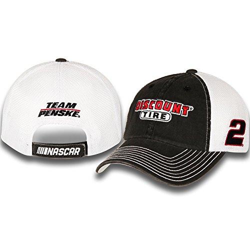 Brad Keselowski  2 Discount Tire Nascar 2018 Sponsor Trucker Mesh Hat Cap
