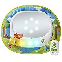 Espejo retrovisor para bebé de Brica Firefly