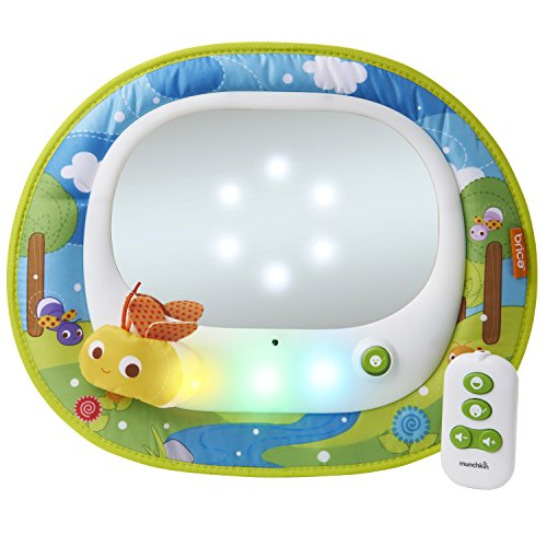 Brica Firefly Baby-In-Sight Car Mirror 24 Kids Plastic Car