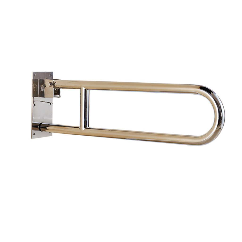 手すりの安全な入浴 グラバーバー304ステンレス鋼グラブレールポリッシュ仕上げ折りたたみ式壁掛け手すり障害補助トイレシャワー浴室 バスルームアクセサリ YJR-浴槽手すり   B076VN3D1D