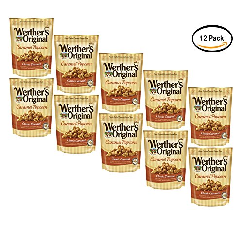 PACK OF 10 - Werther's Original Classic Caramel Caramel Popcorn, 6 oz by Werther's
