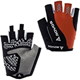 ROVOS Cycling Gloves Men Women Anti-Slip Half Finger Outdoor Sports Mountain Cycling Gloves