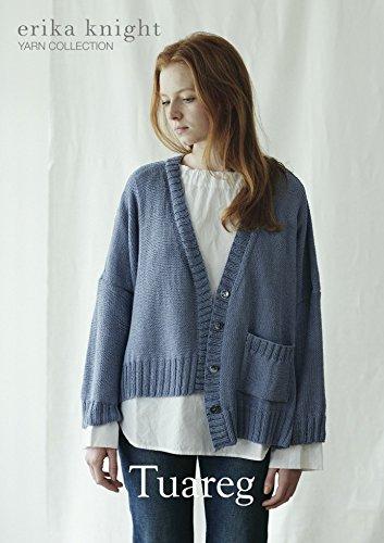 434645f33f7a4b Erika Knight Ladies Tuareg Cardigan Studio Linen Knitting Pattern DK  Erika  Knight  Amazon.co.uk  Kitchen   Home