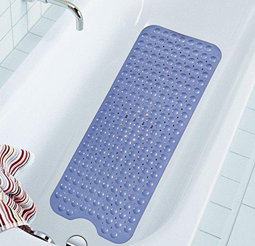Extra Long Bathtub Mats Anti Slip Tub Mat Anti Bacterial Shower Mat Simple De