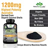 Organic Activated Charcoal Capsules - 1,200 mg