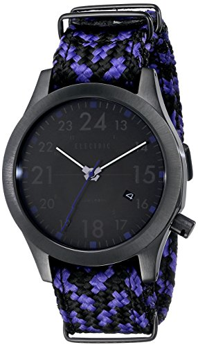 Electric Men's EW0010020041 FW01 Nato Band Analog Display Japanese Quartz Multi-Color Watch
