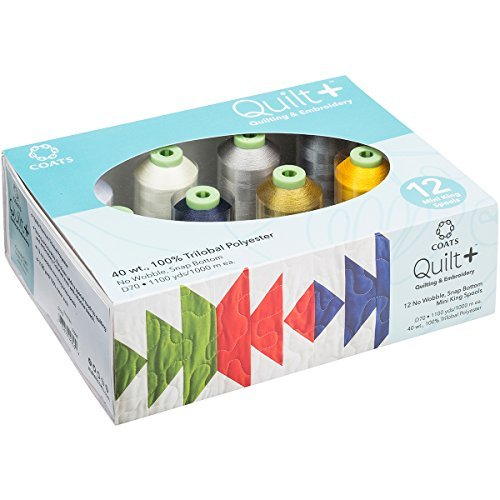 Quilting & Machine Clark Coats (Coats Quilting & Machine Neutrals Embroidery Thread)
