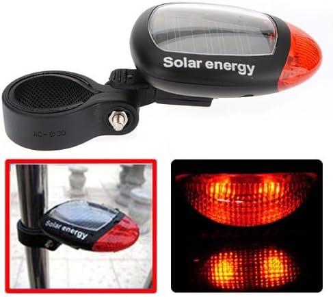 Solar Fame para bicicleta luz trasera LED Seguridad para Bicicleta ...