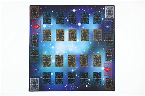 Tournament Starter Deck Box (Yu-gi-oh Arc-v Card Rubber Play Mat Standard Type (For Competition) Pendulum Zone Yes! 60 ? 60cm Size 2mm by TOY-GTO)