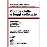Codice civile e leggi collegate 2018. Con appendice di diritto tributario