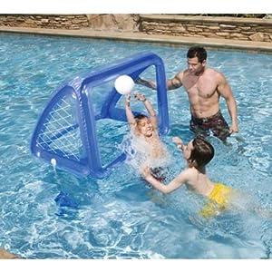 New intex swimming pool inflatable goal anchor bags ball - Swimming pool basketball hoop costco ...