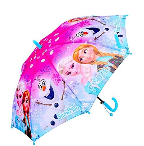 Top frozen umbrella for little girls