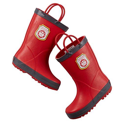 Carter's Boys Rain Boots (Toddler/Little Kid) (3 Y US Lit...