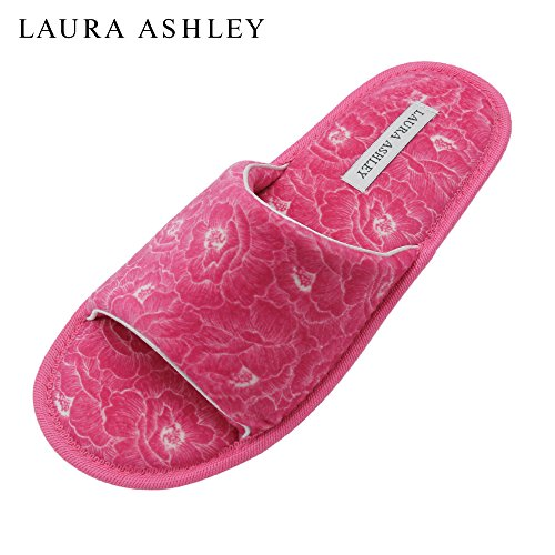 Ashley Ladies Azalea Laura Open Toe Foam Printed Memory Insole Slippers Ud1wqq5