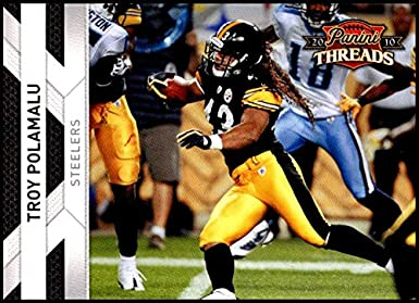 54874cf90b0 Amazon.com: 2010 Panini Threads #119 Troy Polamalu NM-MT Pittsburgh Steelers  Official NFL Football Card: Collectibles & Fine Art