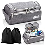 Travel Toiletry Bag – Small Portable Hanging Cosmetic Organizer for Men & Women