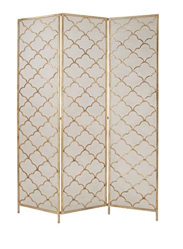 Deco 79 67067 Modern Metal 3-Panel Room Divider, 79