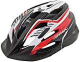 Louis Garneau HG Razz Junior Cycling Helmet, Black/Red For Sale