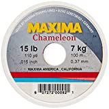 Cheap Maxima Fishing Line Mini Pack, Chameleon, 15-Pound/110-Yard