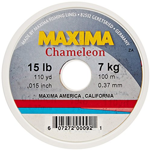 Maxima Leader - Maxima Fishing Line Mini Pack, Chameleon, 15-Pound/110-Yard