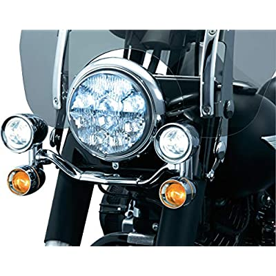 Kuryakyn 5001 Motorcycle Lighting Accessory: Constellation Driving Light Bar with Turn Signal/Blinker Lights, Chrome: Automotive