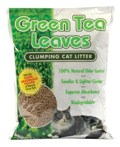 Next Gen Pet Green Tea Leaves Cat Litter 5.5 Pound Bag, My Pet Supplies