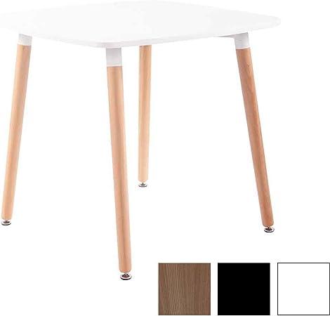 Tavoli Quadrati Di Design.Clp Tavolo Quadrato Da Cucina Viborg In Legno Tavolino Da Pranzo