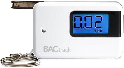 Baynne Portable Keychain LED Alcohol Breath Tester Breathalyzer