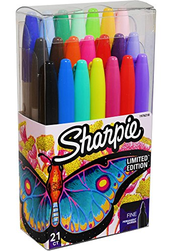 Sharpie Fine Point Permanent Markers Limited Edition 21 Count Pack Photo #2