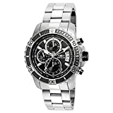 invicta white dial men - Invicta Men's 'Pro Diver' Quartz Stainless Steel Casual Watch, Color:Silver-Toned (Model: 22412)
