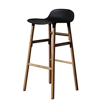 Amazon.com: Wood Barstools Counter Small Apartment ...