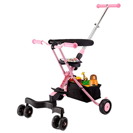 GUO@ PrevencióN De Vuelco En Las 4 Ruedas Trolley para Bebé ...