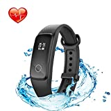 Lenovo Fitness Tracker With Heart Rate Monitor Swimming, G10 Waterproof Activity Tracker Sport Watch With...