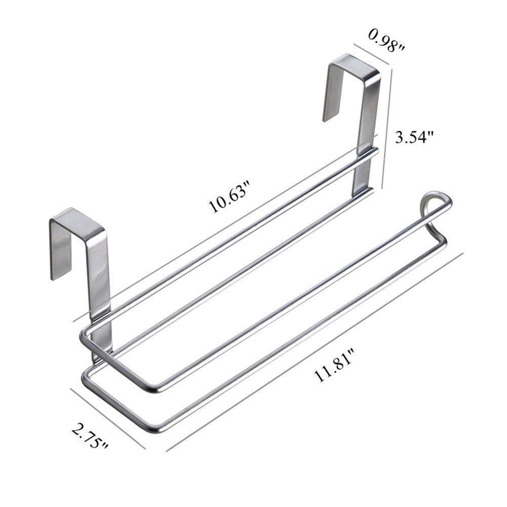 Pano Stainless Steel Kitchen Paper Hanger Sink Roll Towel Holder Hanger Organizer Rack
