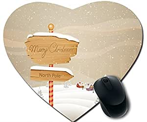 Merry Christmas And A Snowman 2 Mouse Pad Desktop Mousepad Laptop Mousepads Comfortable Office Of Mouse Pad Mat Cute Gaming Mouse Pad
