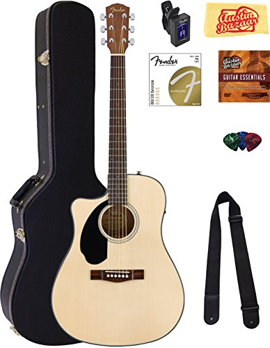 fender-cd-60sce-dreadnought-acoustic-electric-guitar-left-handed-natural-bundle-with-hard-case-tuner