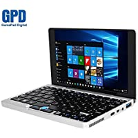 GPD Pocket Aluminum Shell 7 Inch Mini Laptop UMPC Windows 10 System Tablet Computer CPU X7-Z8750 8GB/128GB (Silver)