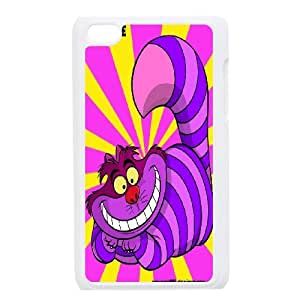 High Quality {YUXUAN-LARA CASE}Smail Cheshire Cat FOR IPod Touch 4th STYLE-12