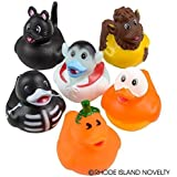 Halloween Rubber Ducks - Set of 12 Duckies/Ducky/Duckie