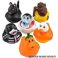 Halloween Rubber Ducks - Set of 12 Duckies/Ducky/Duckie