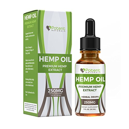 Cheap Hemp Oil Drops :: Supports Anti-Anxiety and Stress Health :: Natural Potent Drops :: Packed with Omega 3 Fatty Acids :: 1 Fl Oz. (30ml) 1 Month Supply :: Sans CBD :: Potent Naturals